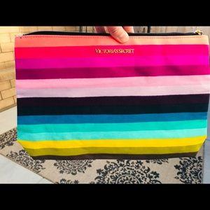 BRAND NEW Victoria's Secret pink rainbow bag!!!